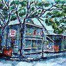 Pirate's House Savannah Georgia art painting by derekmccrea