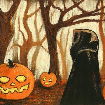 Halloween Forest by gracefullizard