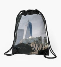 New York City, #New #York #City, #NewYorkCity, #NewYork Drawstring Bag