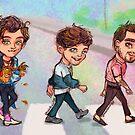 Abbey Road Walk by alulawings