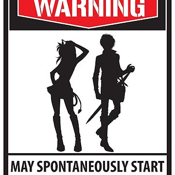 Warning May Spontaneously Start Talking About Anime - Funny Animes Gift by yeoys