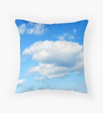 Cloudy with a Chance of Meatballs Throw Pillow