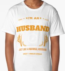 Orienteering Husband Christmas Gift or Birthday Present Long T-Shirt