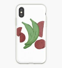 Platano con Salami iPhone Case