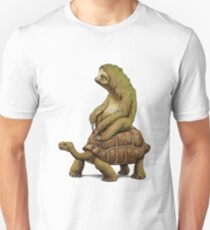 sloth and turtle Unisex T-Shirt