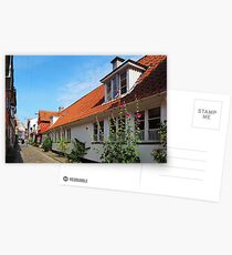 Cobbled Street Postcards