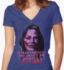 Vamp Deal Women's Fitted V-Neck T-Shirt