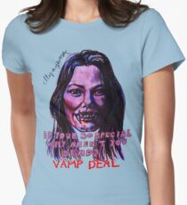 Vamp Deal Women's Fitted T-Shirt