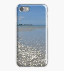 Shell, sand, sea and sky iPhone Case/Skin