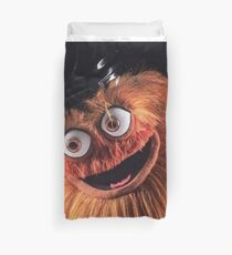 "Flyers New Mascot ""Gritty"" Duvet Cover"