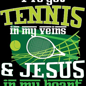 Tennis Player Christian Jesus Jersey Men Women Gift by kh123856