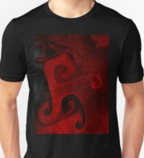 Red Floral Gnarl T T-Shirt