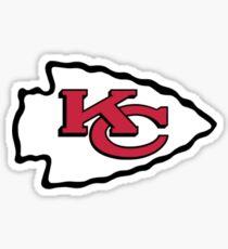 Pegatina Kansas City Football