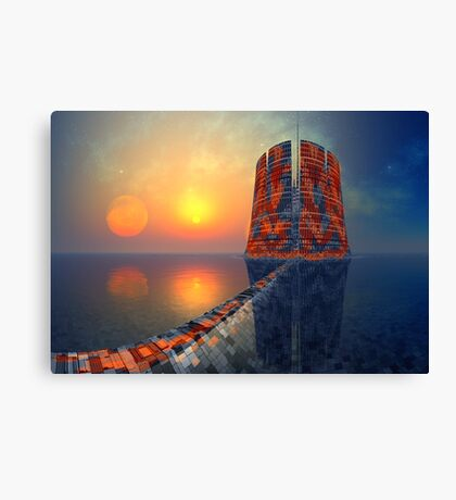 Place of Offering - Pele's Heaven Canvas Print