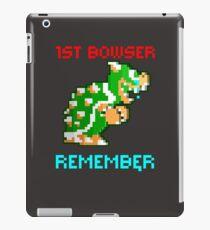 Vinilo o funda para iPad 1st Bowser Design Recordar Retro 8 Bit New Bowser Design