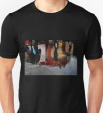 Rain and reflections Unisex T-Shirt