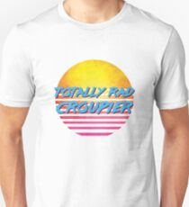 Vintage 1980s Totally Rad Croupier Slim Fit T-Shirt