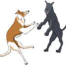 Dancing Dogs 2 by doggyshop