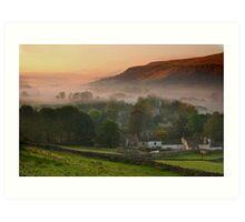 Kettlewell Sunrise Art Print