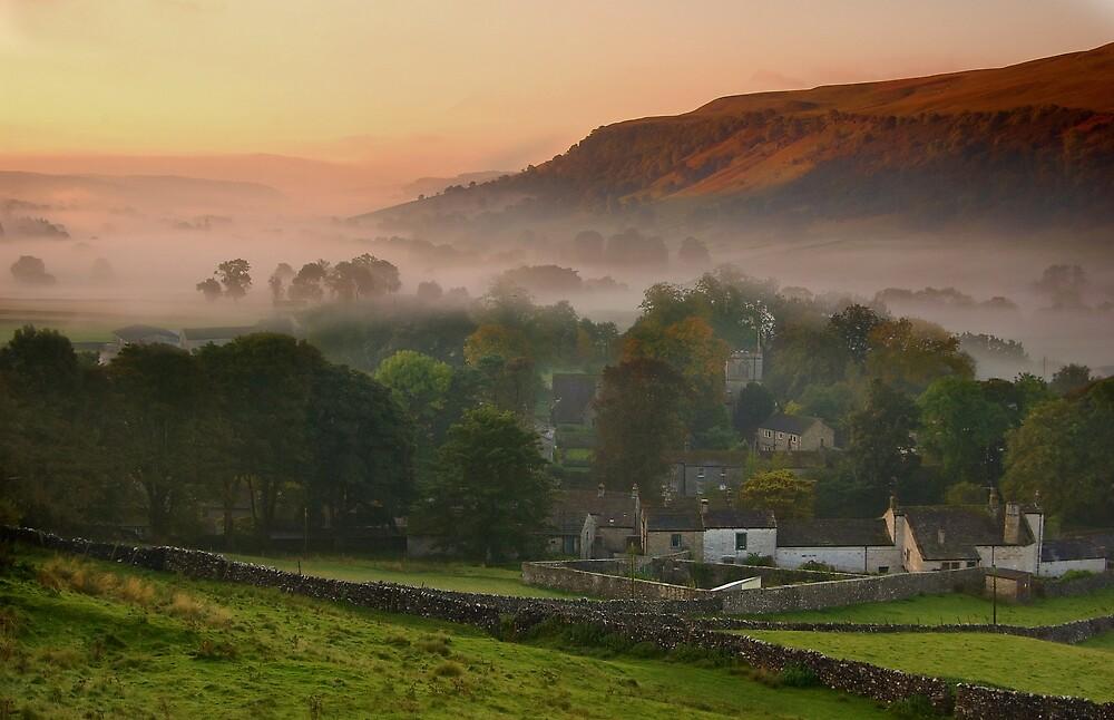 Kettlewell Sunrise by Andrew Leighton