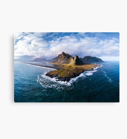 Icelandic Panorama Canvas Print