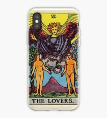 The Lovers Tarot iPhone Case
