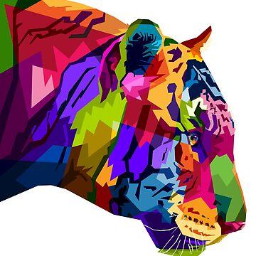 TIGER RAINBOW COLORS by Kriv71