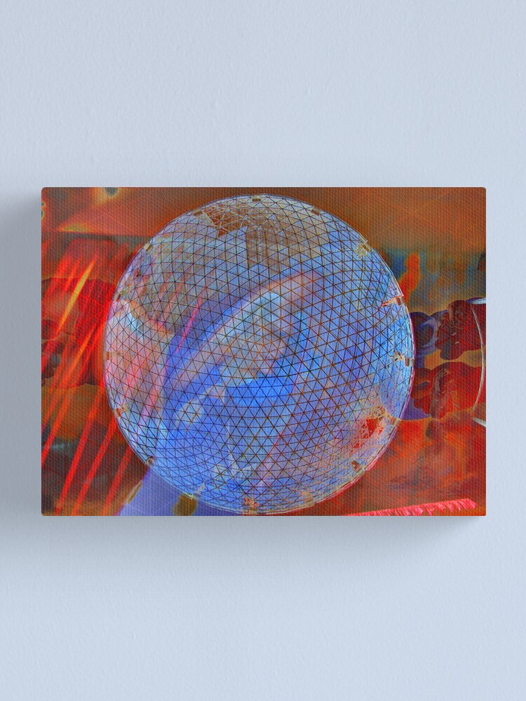 Alternate view of hommage to Salvador D'Alì Canvas Print