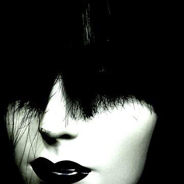 Hair Head Version 1 (BLACK VERSION) by Ikigai-PLUS