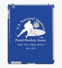 U.S. National Pond Hockey Assoc. T-Shirt iPad Case/Skin