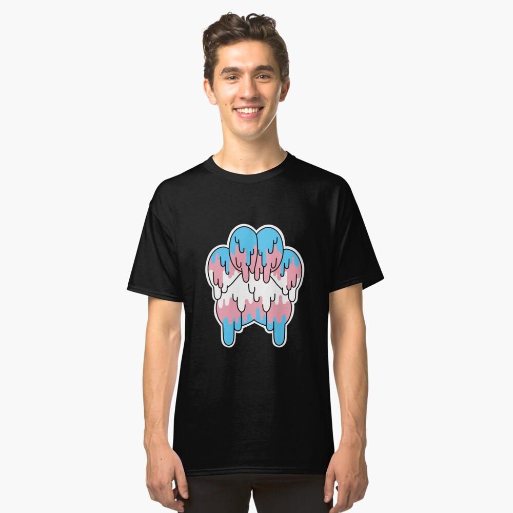 Transgender-Stolz-Tatze Classic T-Shirt