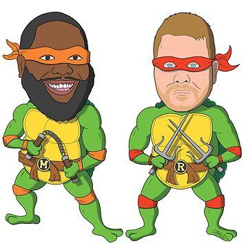 Run the Turtles by PoorlyDrawn