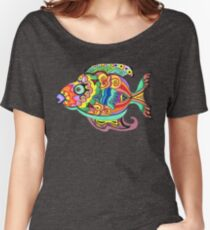 Funky Fish Women's Relaxed Fit T-Shirt