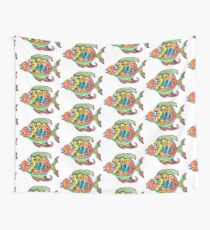 Funky Fish Wall Tapestry