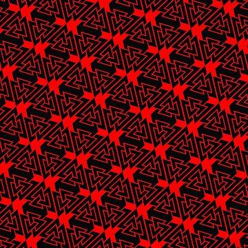Valknut Pattern by spookydooky