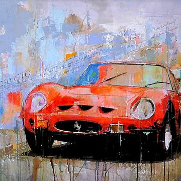 AUTO DEEPAK : Abstract Sports Car Art Print by posterbobs