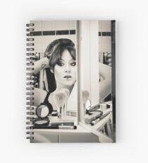 Tux in the Mirror Spiral Notebook
