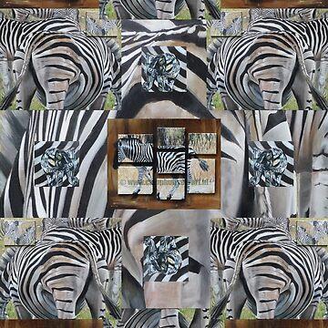 Zebra pattern by CamphuijsenArt