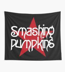 smashing pumpkins red star Wall Tapestry