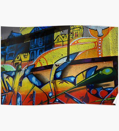 Graffiti in Vancouver Poster