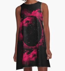 Black Hole A-Line Dress