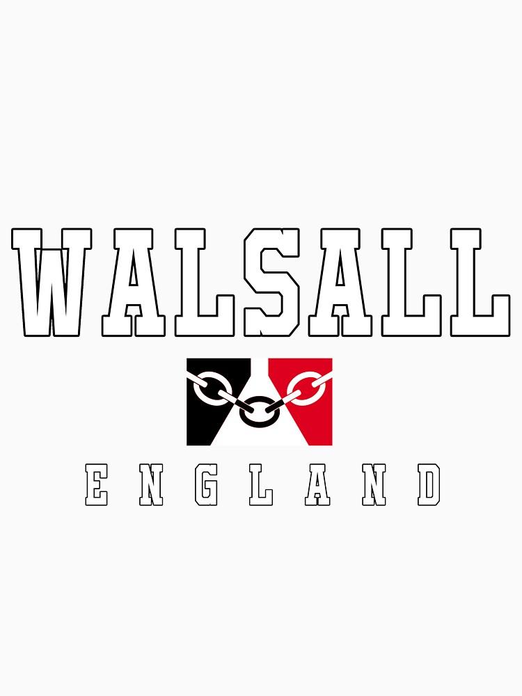 Walsall - Black Country Flag by danbadgeruk