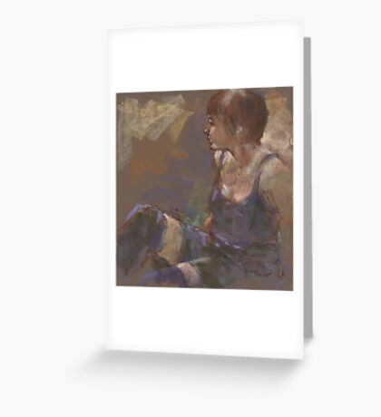 A second session Greeting Card