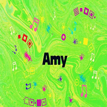 Amy - artwork in green by myfavourite8