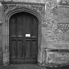 St. Mary Church Door. Saffron Walden, Essex, United Kingdom by Igor Pozdnyakov