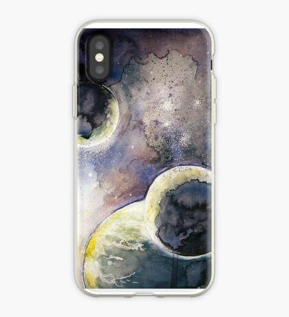 Out There Watercolor iPhone Case