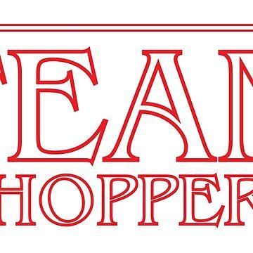 Team Hopper - Stranger Things - David Harbour  by tolson89