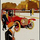 Vintage Berlin Auto Advertisement by edsimoneit