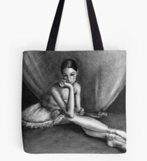 Sad Ballerina Tote Bag