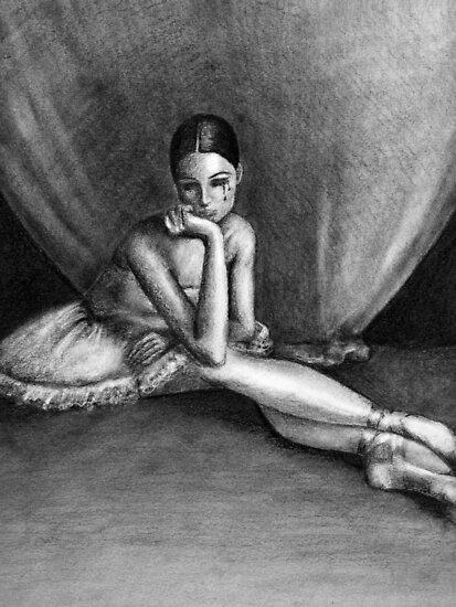 Sad Ballerina by Obsessive Coffee Disorder